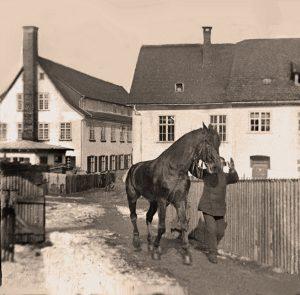 Springer Isny - alte Fabrik um 1900